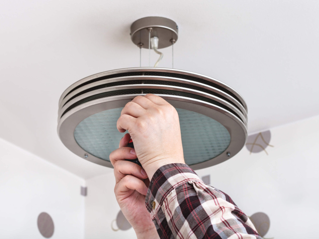Ceiling and Light Fixtire Installation Benbrook